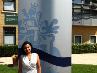 Smita Gadkari the new admissions manager at Anglia Ruskin University