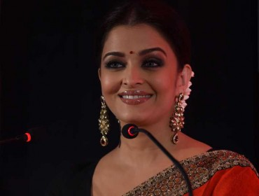 Actress Aishwarya Rai Bachchan during a programme in Chennai on July 27, 2014. (Photo: IANS)