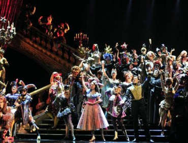 The musical will be on stage here from Sept. 11 to Sept. 28. (Xinhua/Wu Ching-teng) (lfj)