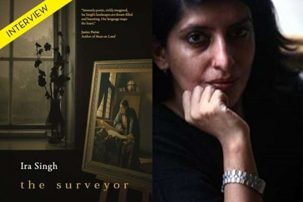 Ira Singh and the cover of The Surveyor