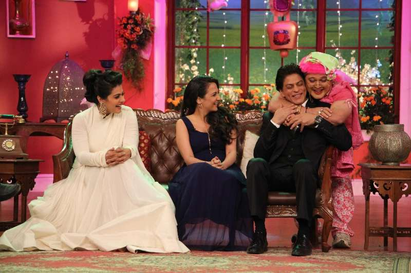 Comedy Nights With Kapil Set Sets of Comedy Nights With