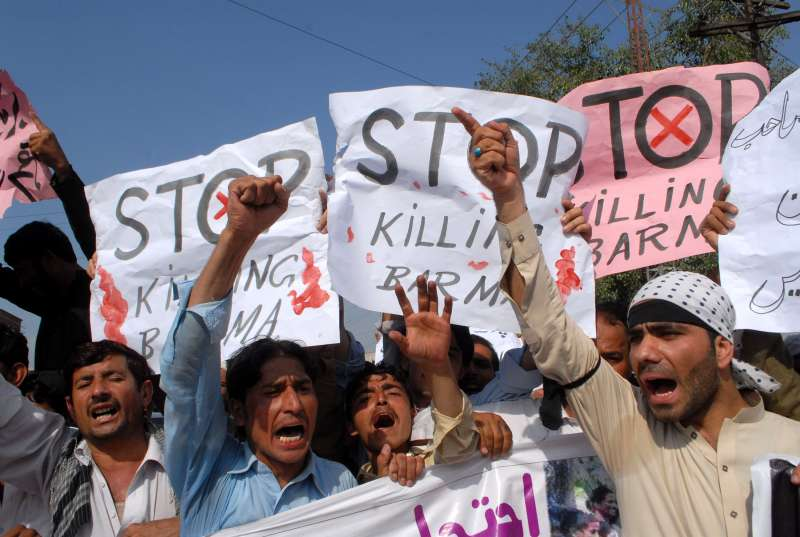 Rohingya Muslims Concerns Pakistan Leading Asian News In