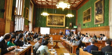 """UK Telangana Business  Meet"" at  British Parliament, London"