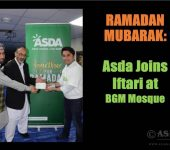 Asda Joins Iftari at BGM Mosque