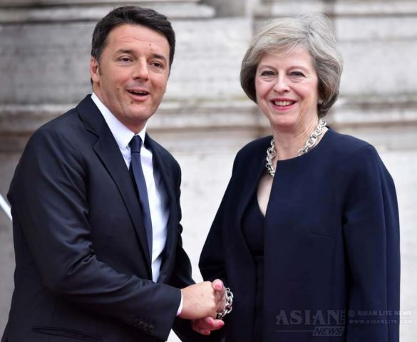 May Meets Matteo Over Brexit