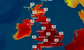 Heatwave strikes UK