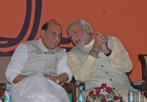 Modi and rajnath