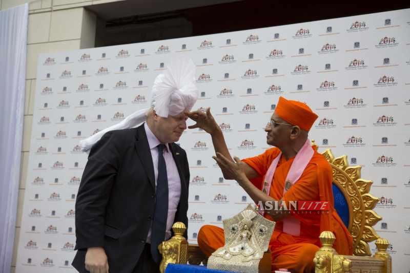 Mayor of London Boris Johnson opens Sports Hall 3