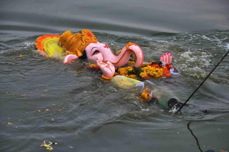 Ganesha immersion
