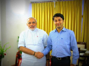 modi and vikas pandey