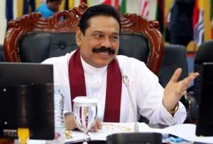 Lanka President Mahinda Rajapaksa