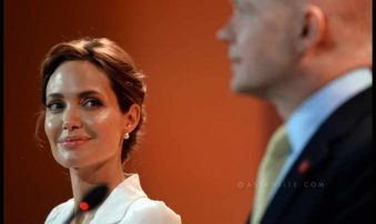 Angelina to teach at Georgetown