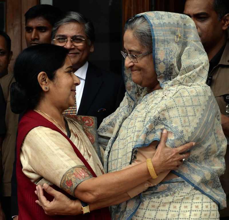 Sheikh Hasina's & Sushma