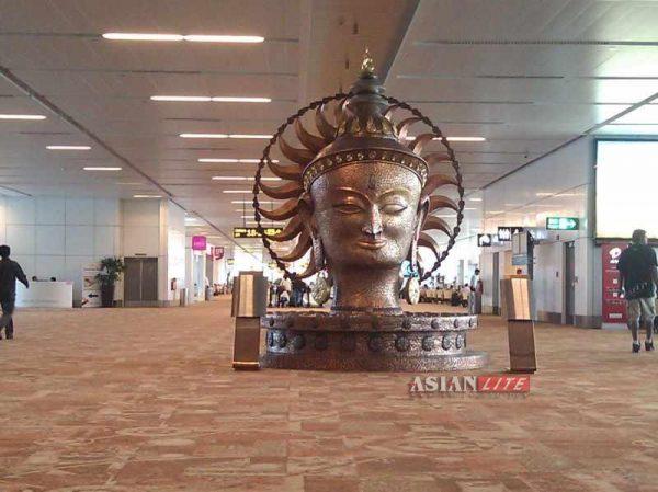 New Delhi's Indira Gandhi International Airport