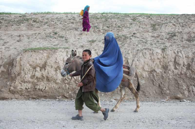 Afghan mother