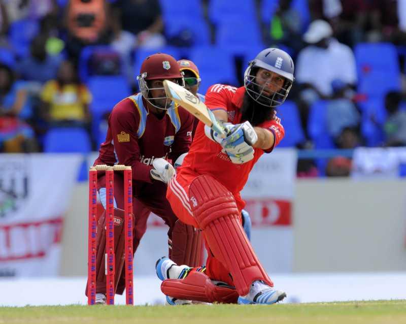 British cricketer Moeen Ali