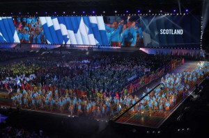 (SP)BRITAIN-GLASGOW-COMMONWEALTH GAMES-OPENING CEREMONY