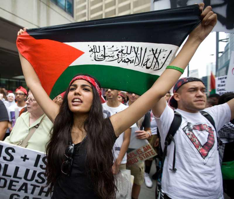 U.S.-CHICAGO-MIDEAST-PROTEST