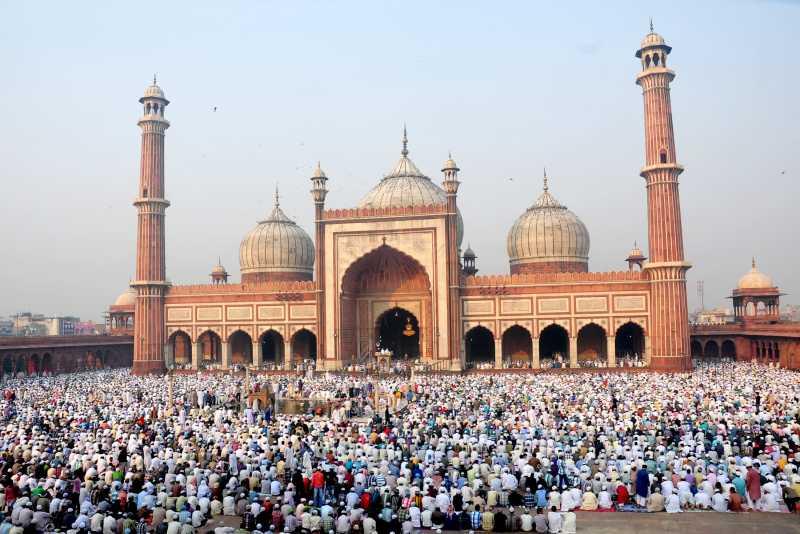 Eid fest at Juma Masjid