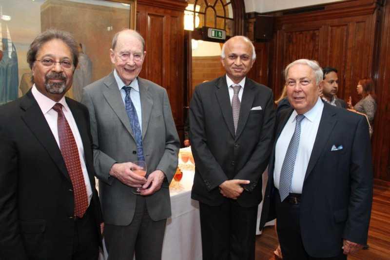 Sir Virdee, Sir Kibble, High Commissioner and Dr Hameid
