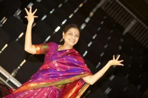 Shantha Rao, the artistic director of Annapurna Indian Dance