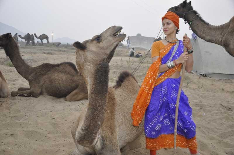 Camel Woman