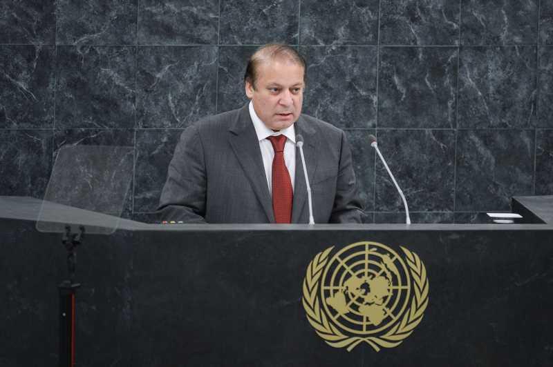 Sharif at UN