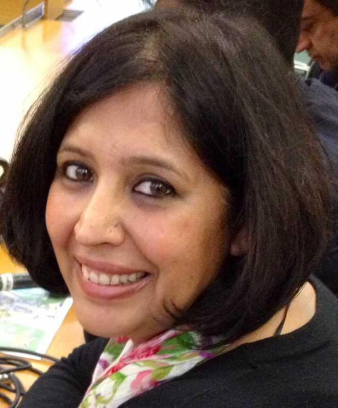 Loveena Tandon, the UK/European correspondent for Aaj Tak/The Headlines Today