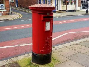 post box royal mail