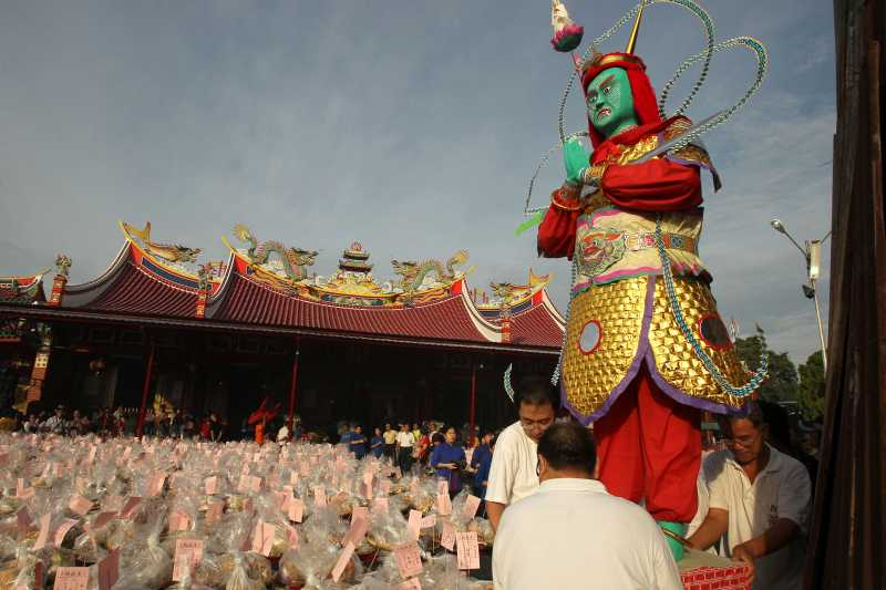 INDONESIA-MEDAN-HUNGRY GHOST FESTIVAL