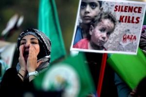 JORDAN-AMMAN-PROTEST-PALESTINE-ISRAEL-CONFLICT