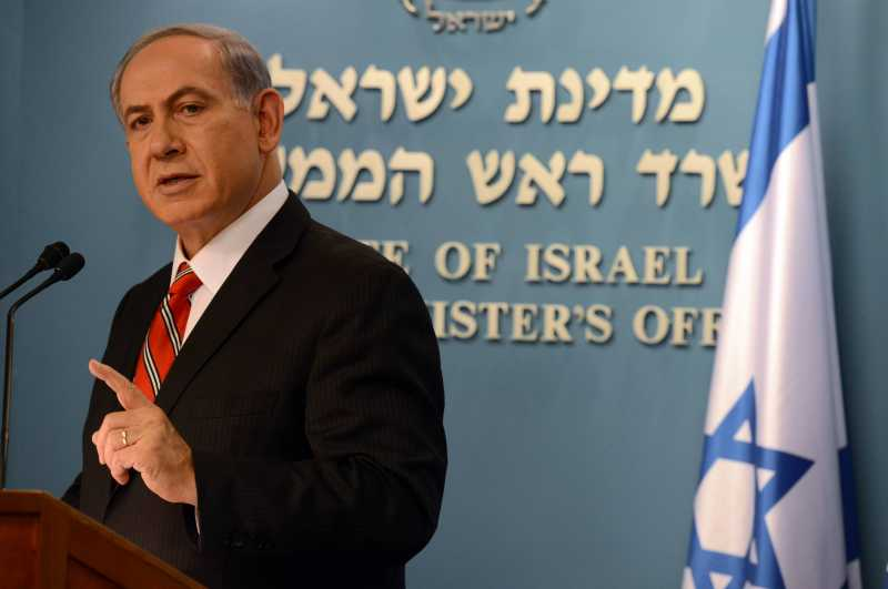 """Israeli Prime Minister Benjamin Netanyahu addresses a news conference in Jerusalem, on Aug. 6, 2014. Israeli Prime Minister Benjamin Netanyahu said on Wednesday that the Gaza operation was a """"proportionate and justified"""" response to Hamas' aggression, and accused Hamas of causing the high Palestinian death toll. """"Every civilian casualty is a tragedy, a tragedy of Hamas' making,"""" the prime minister told foreign reporters at a press conference, the first one held since the 72-hour ceasefire between Israel and Hamas came into effect early on Tuesday."""