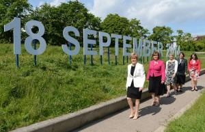 BRITAIN-EDINBURGH-SCOTTISH INDEPENDENCE REFERENDUM-COUNTDOWN