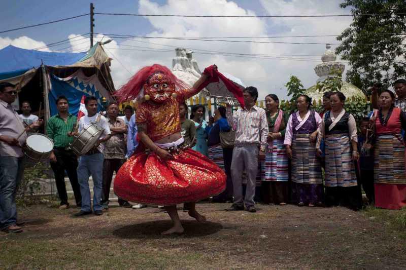 (WORLD SECTION) NEPAL-KATHMANDU-INTERNATIONAL DAY OF THE WORLD'S INDIGENOUS PEOPLES