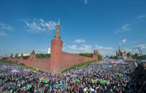 RUSSIA-MOSCOW-LABOR DAY-PARADE