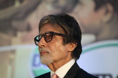 Actor Amitabh Bachchan during the launch of `Dettol Banega Swachh India` a 5 year nationwide program by Reckitt Benckiser (RB) in partnership with with NDTV & Facebook , in Mumbai, on September 25, 2014. The program spreads awareness about the importance of hygiene and sanitation to millions across the country. Amiabh Bachchan is the program ambassador for the campaign. (Photo: IANS)