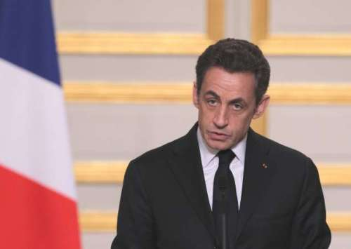 FRANCE-POLITICS-SARKOZY
