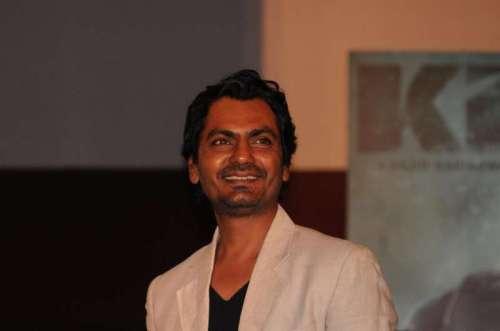 Actor Nawazuddin Siddiqui during the trailer launch of the film Kick in Mumbai on June 15, 2014. (Photo: IANS)
