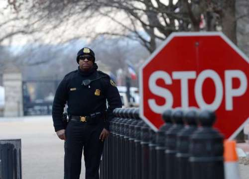 US-WASHINGTON-WHITE HOUSE-LOCKDOWN