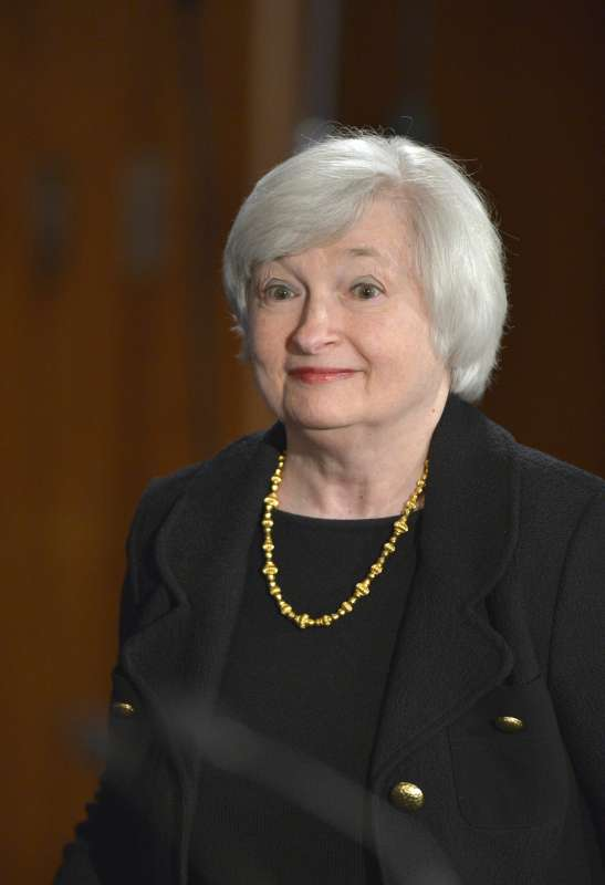 U.S. Federal Reserve Chair Janet Yellen