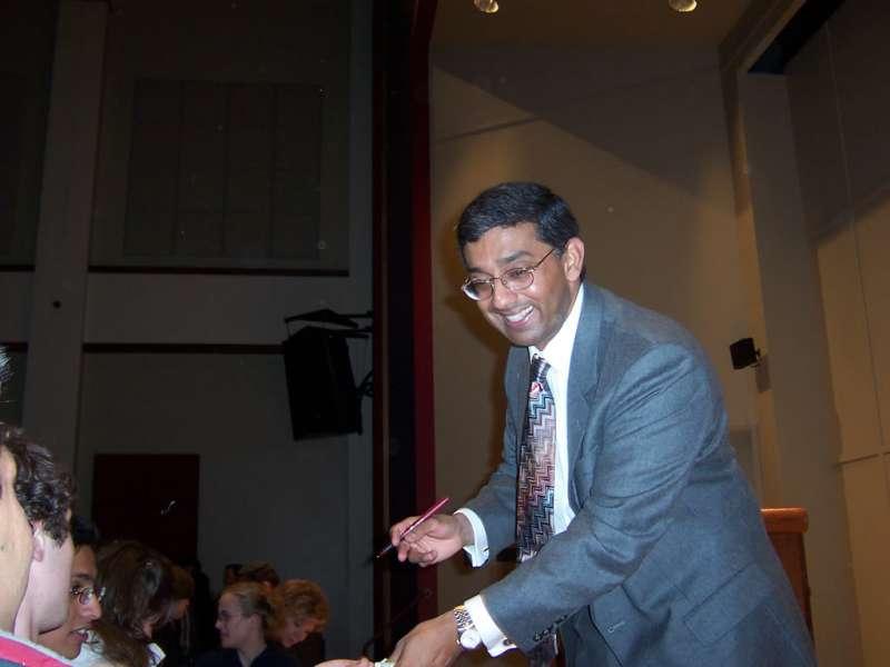 US author Dinesh D'Souza