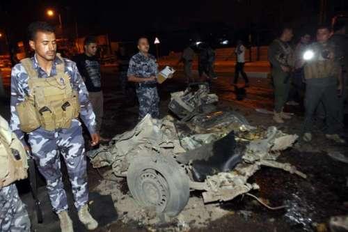 IRAQ-KIRKUK-BOMBS