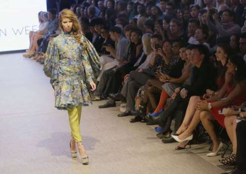 CANADA-VANCOUVER-FASHION WEEK-SPRING/SUMMER TREND