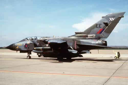 British air force Tornado fighter