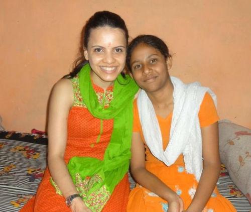 Manasi Marathe with Anjali