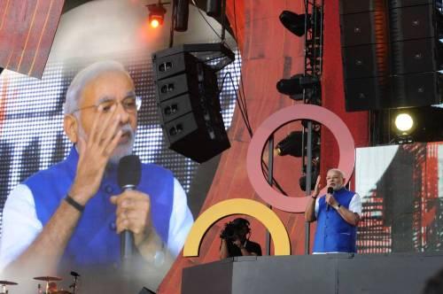 Indian Prime Minister Mr Narendra Modi