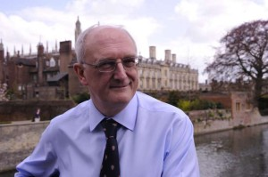 Professor Sir Leszek Borysiewicz,, the Vice-Chancellor of Cambridge University