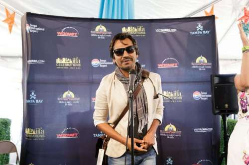 Actor Nawazuddin Siddiqui arrives to attend the 15th Annual IIFA weekend in Florida of United States of America.