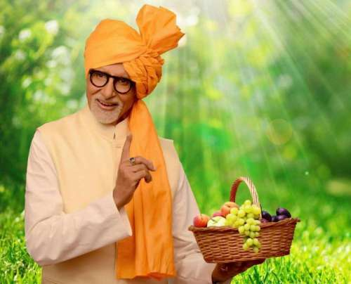 Actor Amitabh Bachchan who has been appointed as the horticulture ambassador of Maharashtra. (Photo: IANS)