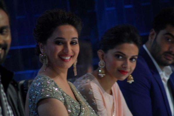 Actors Madhuri Dixit and Deepika Padukone  (File)
